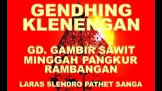 GENDHING GAMBIR SAWIT MG PANGKUR SL9