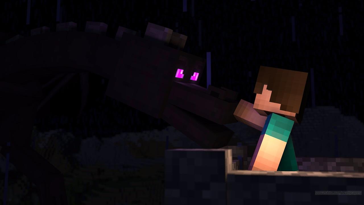 Minecraft Como Treinar Seu Dragao Ep 1 Youtube