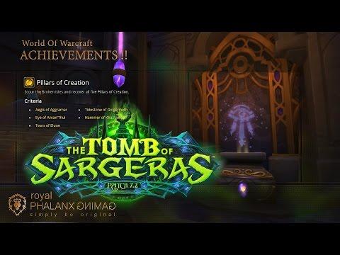 Achievement-Legion 7.2 Pillars of Creation + The Eye of Aman'thul