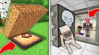 ÖRÜMCEK ADAM'IN 1000 YILLIK GİZLİ SIĞINAĞI - Minecraft
