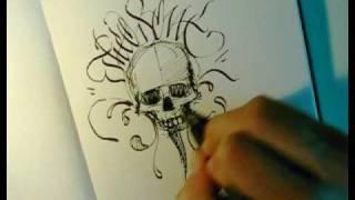 Speed Drawing and Calligraffiti