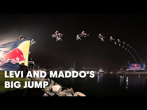 Behind the Scenes of Levi and Maddos Big Jump