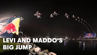 Behind the Scenes of Levi and Maddo's Big Jump