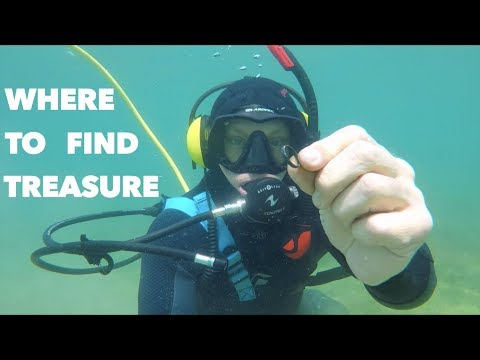 Underwater Staircase Metal Detecting Treasure, I Didn't Thin