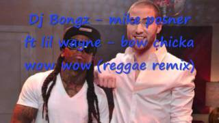 Mike Posner ft Lil Wayne - Bow Chicka Wow Wow ( REGGAE REMIX)