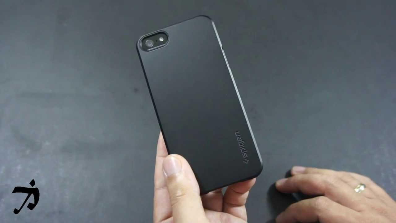 new arrival 27156 69594 Spigen SGP Ultra Fit Case for the iPhone 5 & 5S - YouTube