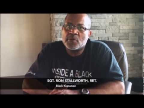 Sgt. Ron Stallworth, Ret.   Black Klansman  Viral Rap Video