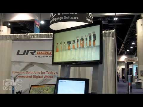 DSE 2015: URway Kiosk Showcases Sojourn Model Kiosk with Tool-Free Assembly