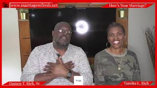 Marriage Refresh TV - Live - What inspires quality men to commit?