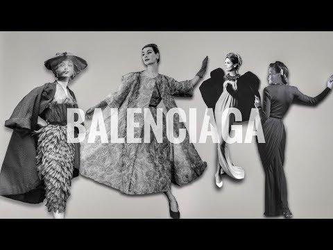 История Кристобаля Баленсиаги и модного дома| Balenciaga.