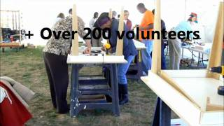 The Home Depot Foundation Table Build