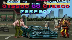 Final fight SNES 2 players Haggar & Haggar