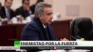 Lenín Moreno defiende entrega de Assange pese a protestas populares