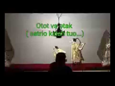 wayang kulit goro-goro super lucu