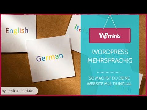 So machst du deine WordPress Website mehrsprachig!