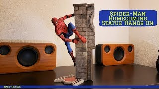 Spider-Man Homecoming Statue Hands On