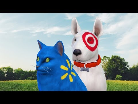 Let's Play The Sims 4 - Create A Sim Target Dog And Walmart Cat