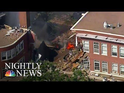 Minneapolis School Explosion: Receptionist Killed, Other Injured | NBC Nightly News