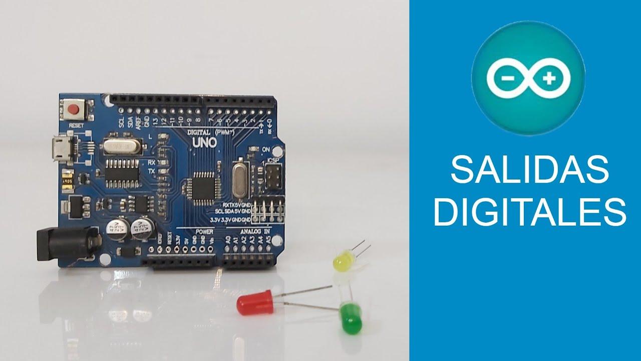 mBlock5 a Código Arduino [Módulo 1] Salidas Digitales || LED