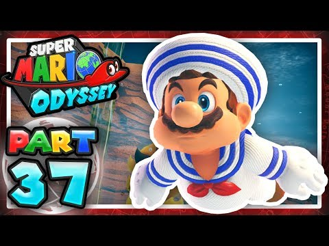 Super Mario Odyssey: Part 37 - When Seaweed Attacks! 100% (Let's Play)