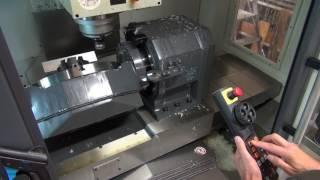 Машина CNC 5 осі ручної роботи (робить гострі алюмінієві кромки)