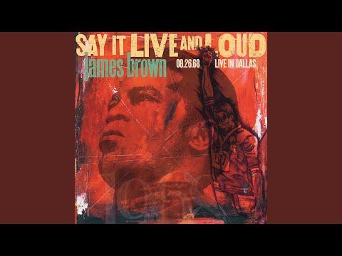 Say It Loud - I'm Black And I'm Proud (Live At Dallas Memorial Auditorium / 1968) Mp3