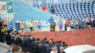 100 Финал Мужчины Универсиада Украины 12 мая 2015 Харьков