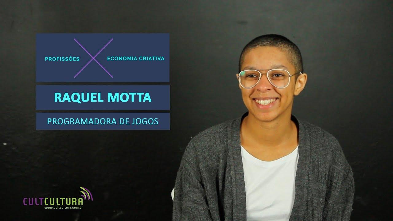 Entenda o trabalho de uma programadora de jogos, com Raquel Motta