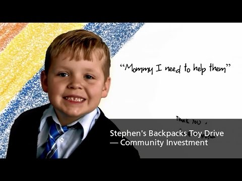 TransCanada — Stephen's Backpacks Toy Drive — Community Investment