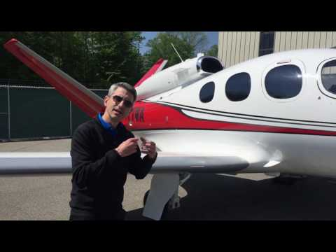 A Walkaround With the Cirrus Vision Jet