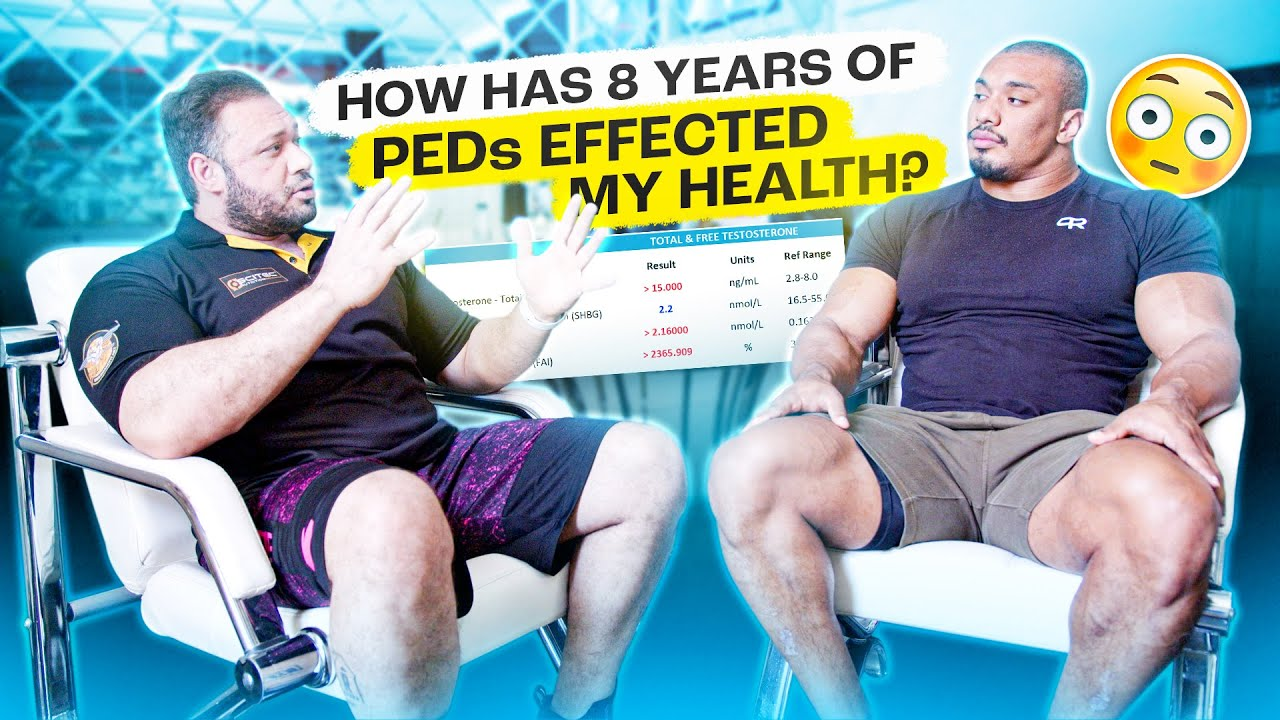 HOW HAS 8 YEARS OF PEDs EFFECTED MY HEALTH?