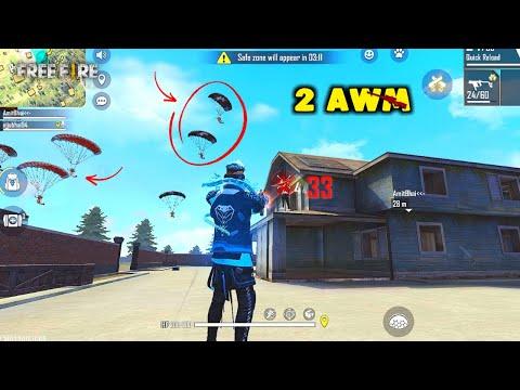 Insane 2 AWM Intense Duo vs Squad Ajjubhai OverPower Gameplay - Garena Free Fire