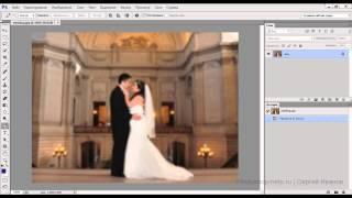 Размыть задний фон в фотошопе(В видео уроке показываю как сделать размытым задний фон на фотографии в Adobe Photoshop., 2013-09-19T03:47:57.000Z)