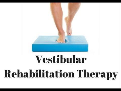 Vestibular Rehabilitation Therapy for Patients - YouTube