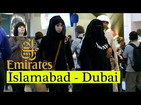 Islamabad to Dubai | Emirates Airlines Boeing 777-300ER