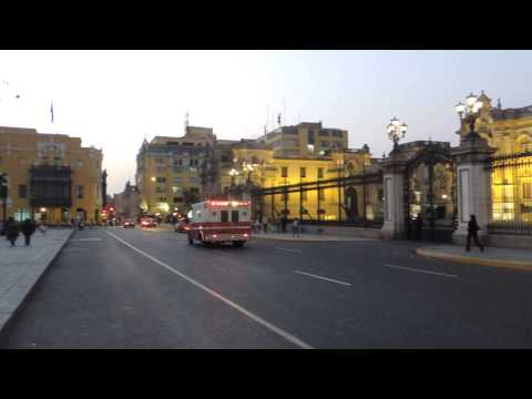 Lima Medical Emergency by Fires