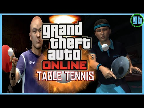 GTA Online: Table Tennis Update
