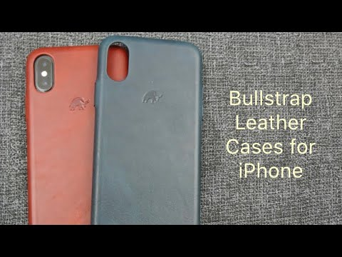 Bullstrap Leather Cases For IPhone X/Xs