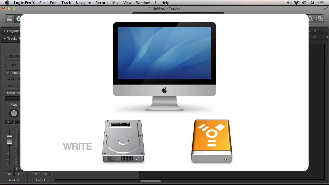 How and Why to Move Your Logic Pro X Sound Libraries to an