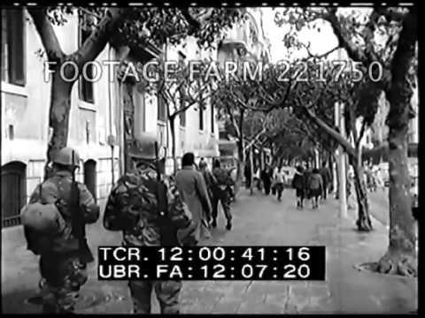 1962 Algerian War 221750-01   Footage Farm