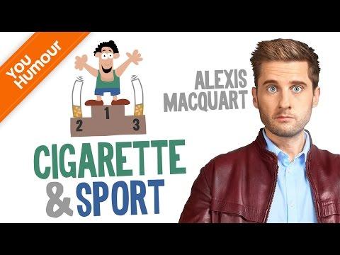 ALEXIS MACQUART - Cigarettes et sport