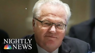 Russian Ambassador To The UN Vitaly Churkin Dies Unexpectedly In New York City | NBC Nightly News