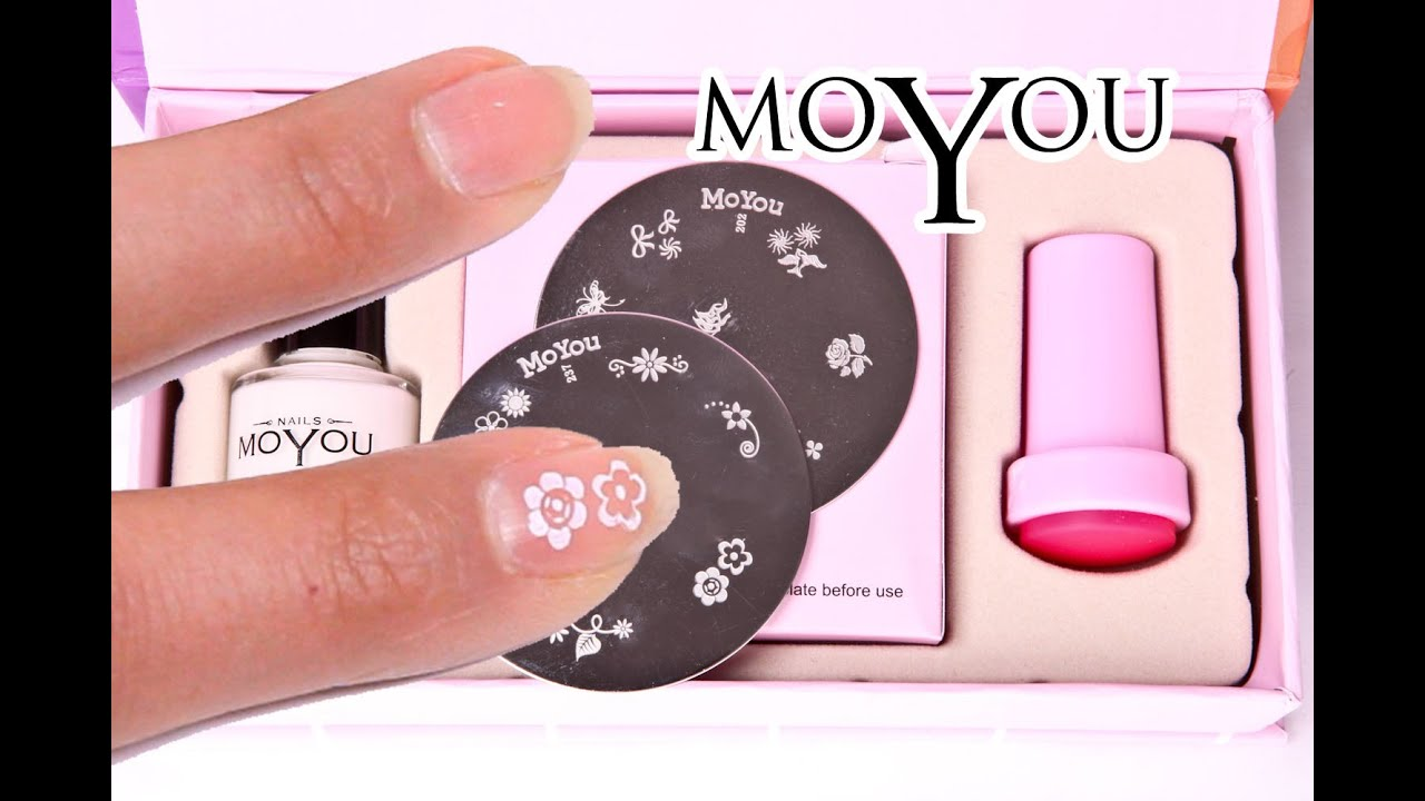 Moyou Nails - EASY Nail Art Kitty Set Review and Demo - Professional ...