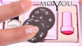 Moyou Nails - EASY Nail Art Kitty Set Review and Demo - Professional Results