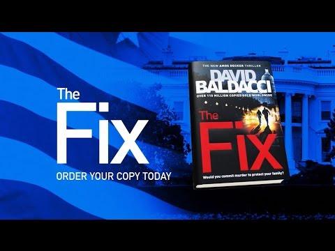 THE FIX by David Baldacci | Book trailer