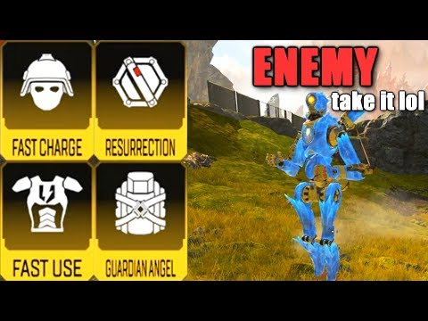 Given All Gold Items By An Enemy In Apex Legends