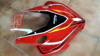 cara pasang visor v4 all new cbr 150r (cover lampu)