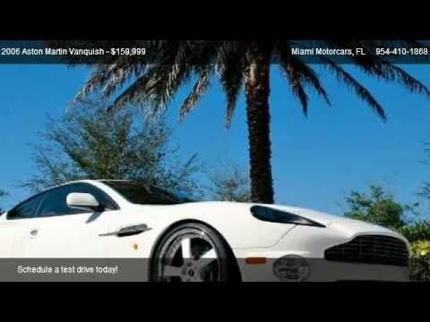 Aston Martin Vanquish S For Sale In ROYAL PALM BEACH FL - Aston martin vanquish 2006 for sale