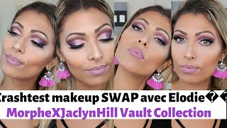 Crashtest makeup SWAP avec Elodie😍#MorpheXJaclynHill VOLT Collection #zoeva #essence..