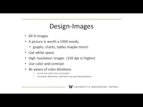 UW Bothell Undergraduate Research | How to Make a Poster